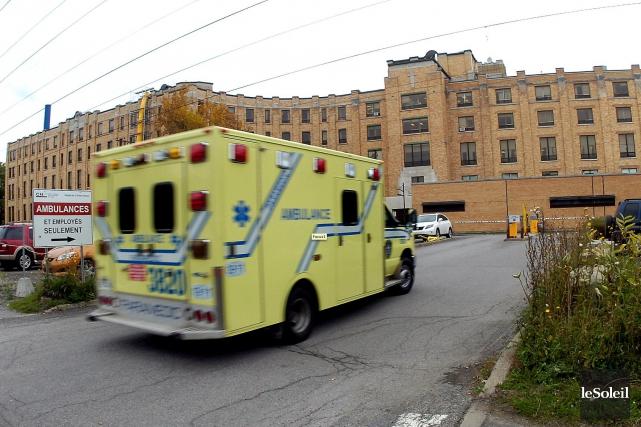 L'hôpital l'Enfant-Jésus de Québec... (Le Soleil, Jean-Marie Villeneuve)