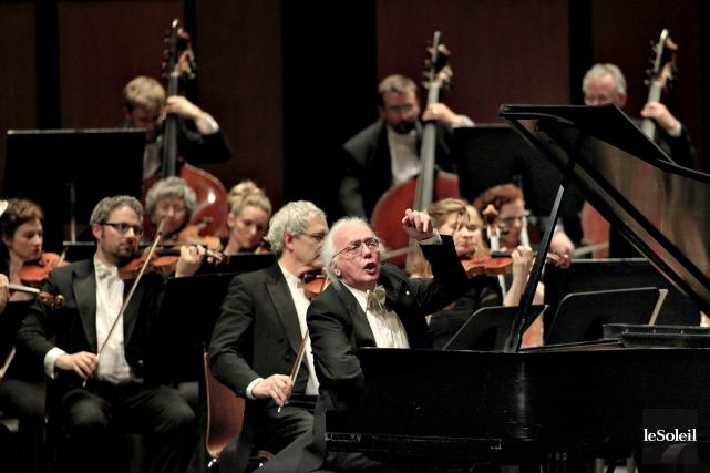 Considérant la densité du Concerto no 3 de... (Le Soleil, Pascal Ratthé)