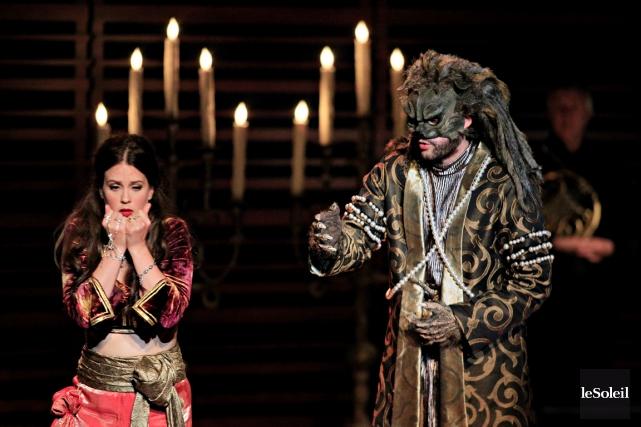 La soprano Florie Valiquette incarne une ravissante Zémire,... (Le Soleil, Pascal Ratthé)