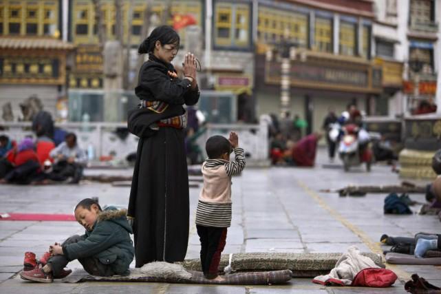 De nombreux Tibétains ne supportent plus ce qu'ils... (Photo JACKY CHEN, archives Reuters)