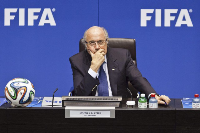 Sepp Blatter... (PHOTO MICHAEL BUHOLZER, ARCHIVES AGENCE FRANCE-PRESSE)