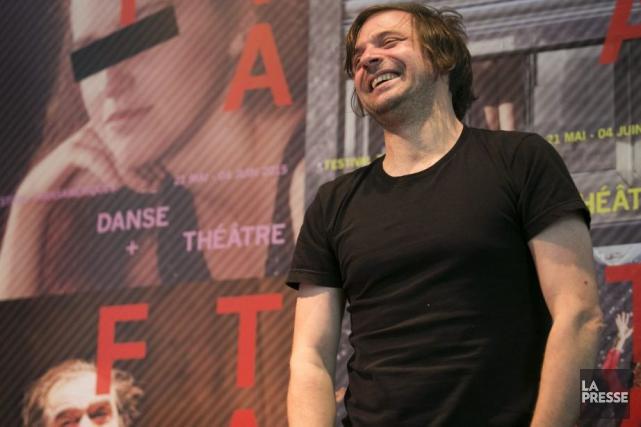 Le comédien Christian Lapointe est apparu en pleine... (Photo: François Roy, La Presse)