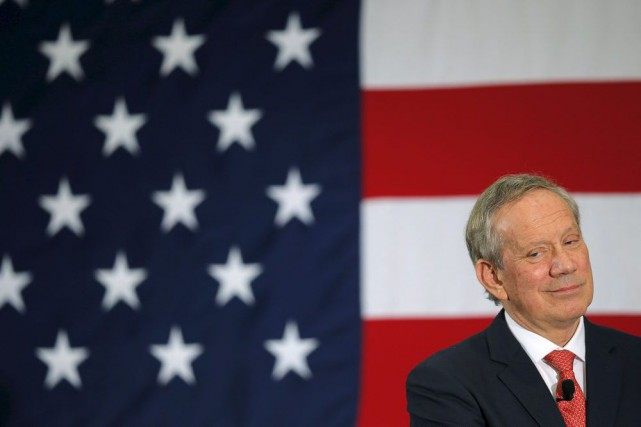 L'ex-gouverneur de New York George Pataki.... (PHOTO BRIAN SNYDER, ARCHIVES REUTERS)