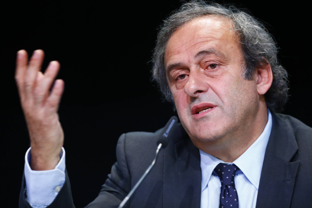Le président de l'UEFA, Michel Platini.... (Photo Ruben Sprich, archives Reuters)