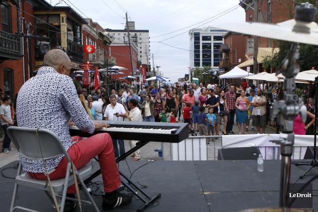 Le festival afro-latino Kafé Karamel, qui se déroule... (Simon Séguin-Bertrand, Archives LeDroit)
