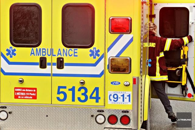 Une fillette de cinq ans a été happée par un véhicule, à Magog, mercredi... (Archives La Tribune)