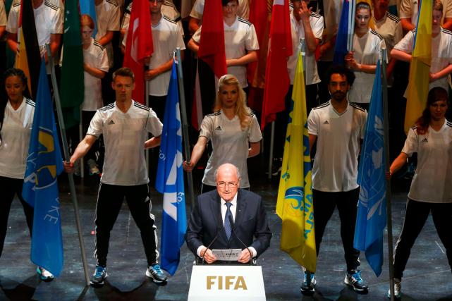 Le président de la FIFA, Joseph Blatter, a... (Photo Arnd Wiegmann, Reuters)