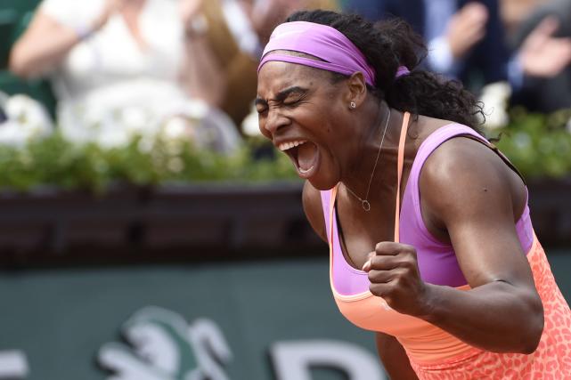 Serena Williamss'est offert une belle frousse avant d'accéder... (Photo Dominique Faget, AFP)