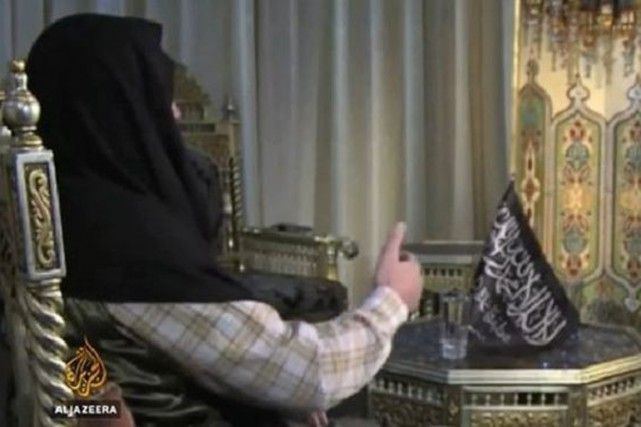 Le chef du Front al-Nosra, Abou Mohammad al-Jolani,... (IMAGE AL-JAZEERA)
