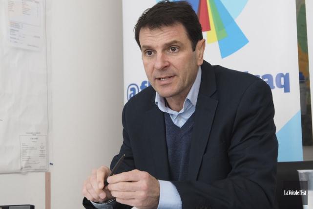 Le député et leader parlementaire François Bonnardel s'est... (Photothèque La Voix de l'Est)