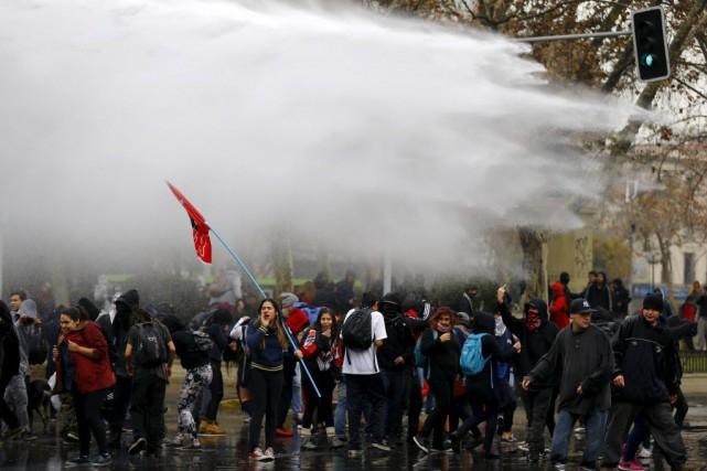 Pour les étudiants, les promesses du gouvernement de... (Photo Ivan Alvarado, Reuters)