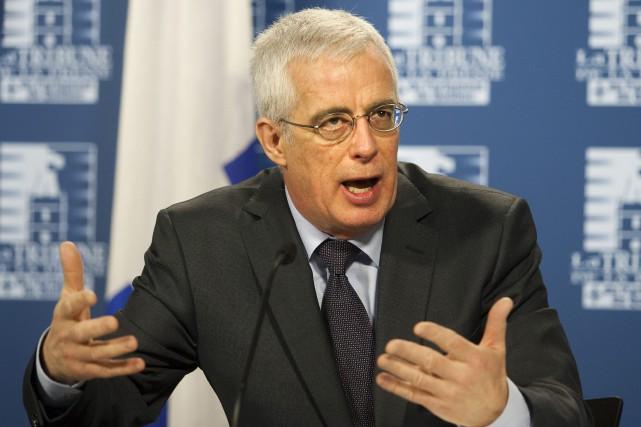 Le commissaire à l'éthique du Québec, Jacques Saint-Laurent... (Jacques Boissinot, Archives La Presse Canadienne)