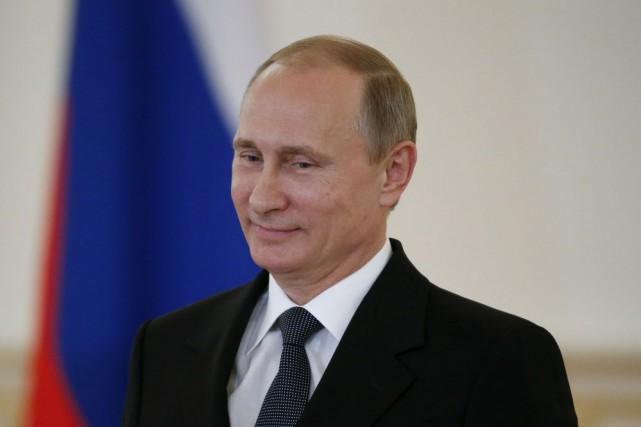 Le président russe Vladimir Poutine... (Photo Sergei Karpukhin, Reuters)