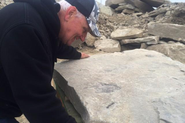 Edgar Nernberg reste convaincu que les fossiles qu'il... (Photo PC)