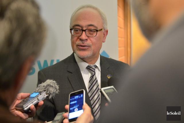 Le ministre des Finances, Carlos Leitão, a écrit... (Photothèque Le Soleil, Yan Doublet)