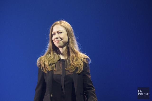 Chelsea Clinton a rappelé aux participants de C2... (PHOTO OLIVIER PONTBRIAND, LA PRESSE)