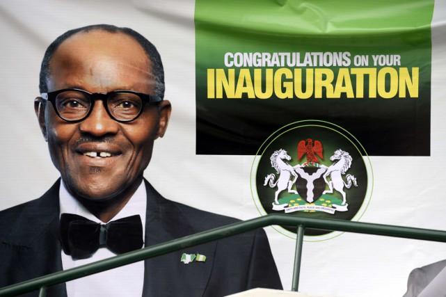 «Moi, Muhammadu Buhari, jure solennellement que je serai... (PHOTO PIUS UTOMI EKPEI, AFP)