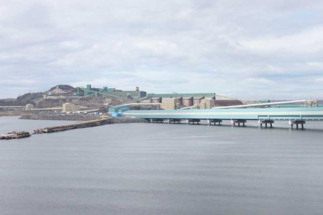 Le nouveau quai multiusager du Port de Sept-Îles... (Collaboration spéciale Fanny Lévesque)