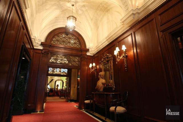 L'hôtel est réputé pour avoir accueilli plusieurs vedettes... (PHOTO MARTIN CHAMBERLAND, ARCHIVES LA PRESSE)
