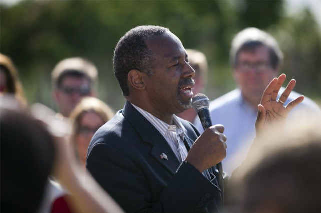 Ben Carson... (PHOTO RANDALL HILL, REUTERS)