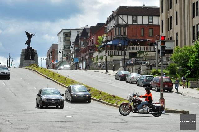 Toute la semaine prochaine, la Ville de Sherbrooke procédera à l'aménagement de... (Archives La Tribune)