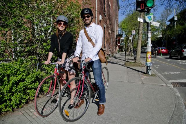 Andréanne Paquet et Jordan Charbonneau font partie des... (PHOTO DAVID BOILY, LA PRESSE)