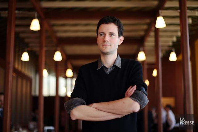 L'auteur Alexandre Postel l'avoue: «J'aime bien l'idée que... (Photo: Martin Chamberland, La Presse)