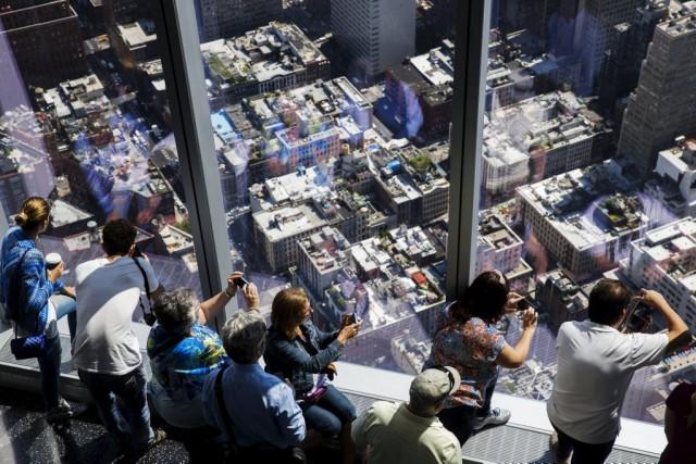 À plus de 380 mètres de haut, avec... (PHOTO LUCAS JACKSON, REUTERS)