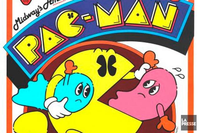 Le célèbre personnage de jeux vidéo Pac-Man a célébré ses 35ans le 22... (Photo: archives La Presse)