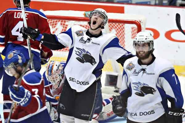 Les Sea Dogs ont remporté une première fois... (Archives, La Presse Canadienne)