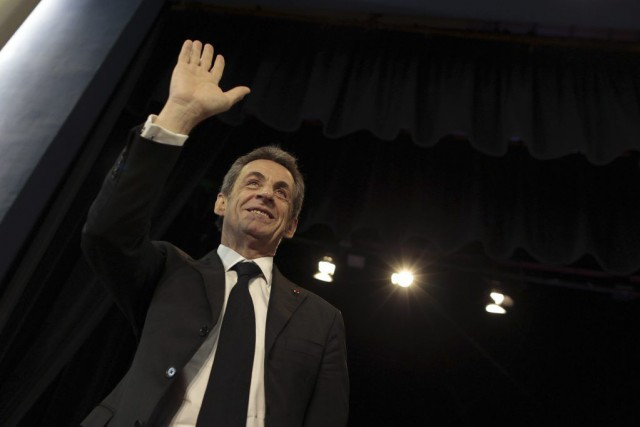 Nicolas Sarkozy... (PHOTO CHARLY TRIBALLEAU, AFP)