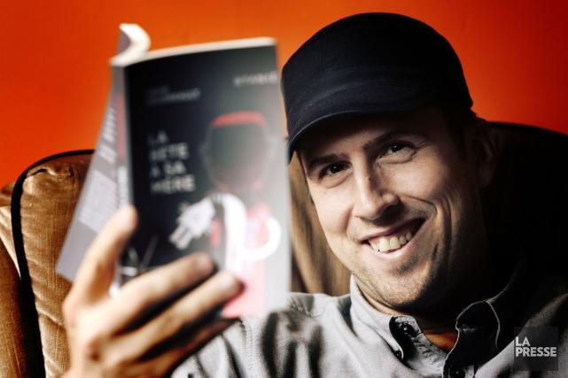 Premier Québécois à remporter la Coupe du monde de slam poésie à Paris, auteur... (Photo: Bernard Brault, La Presse)
