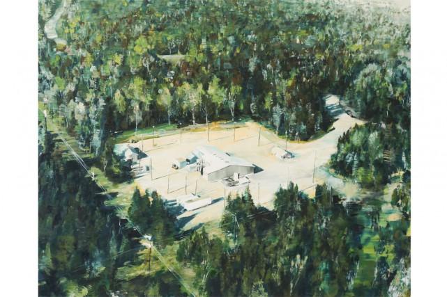 2015, de John Player, huile sur toile 91... (Image: fournie par Pierre-François Ouellette art contemporain inc.)