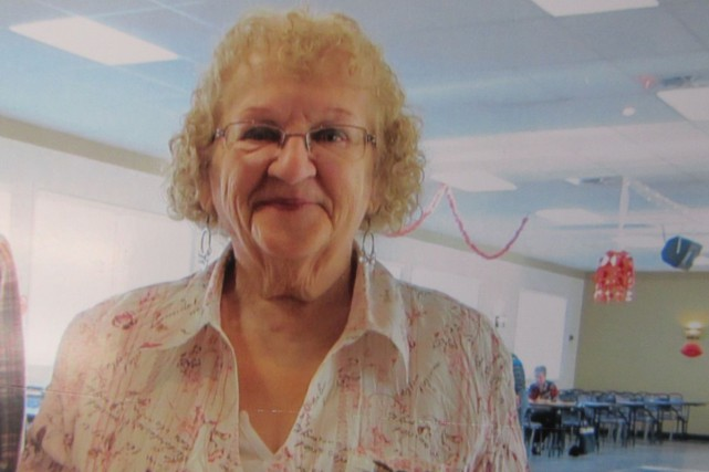 Jacqueline Melançon, 69 ans, est portée disparue depuis...