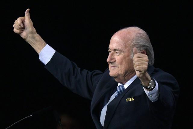 Joseph S. Blatter... (Photo Walter Bieri, AP)