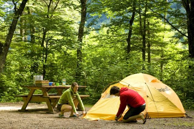 Il sera dorénavant possible de camper aux îles... (PHOTO FOURNIE PAR LA SEPAQ)