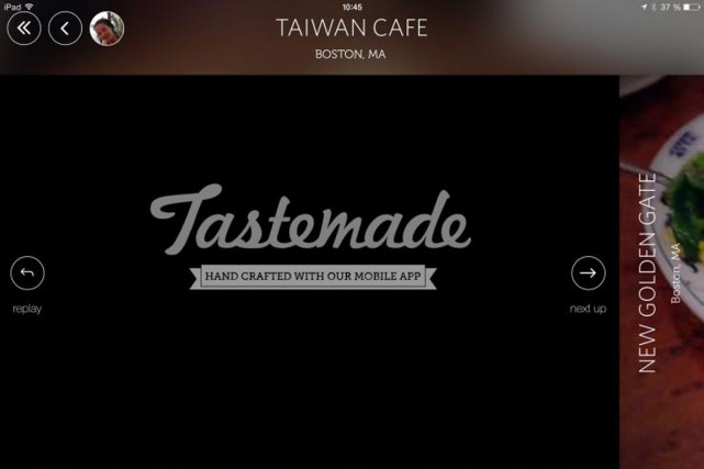 Un café taïwanais à Boston où l'on sert des raviolis juteux et fumants, un bar... (IMAGE TIRÉE DE L'APPLICATION)
