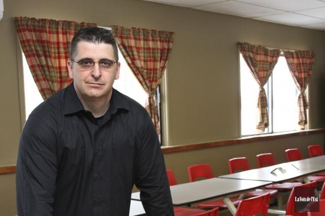 Nicolas Bédard, directeur au Centre de traitement de... (photo Alain Dion, archives La Voix de l'Est)
