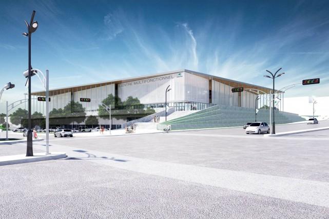 D'après un rapport, un centre multifonctionnel qui attirerait... (Courtoisie)