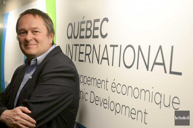 En entrevue au Soleil, le pdg de Québec... (Le Soleil, Patrice Laroche)