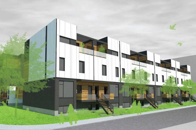 Selon Tergos, les familles qui habiteront l'écoquartier de... (Photo fournie par Tergos)