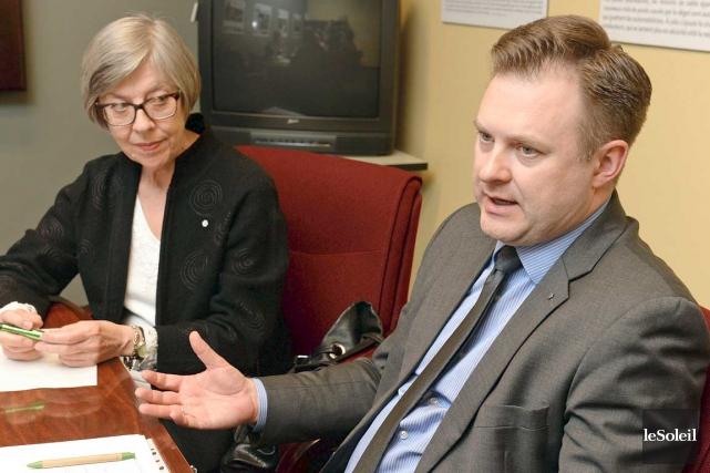 La Montréalaise Regina Piecaitis, travaillait pour Développement International... (Le Soleil, Patrice Laroche)