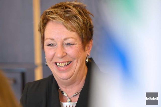 France Hamel, la mairesse suppléante... (Photothèque Le Soleil, Yan Doublet)