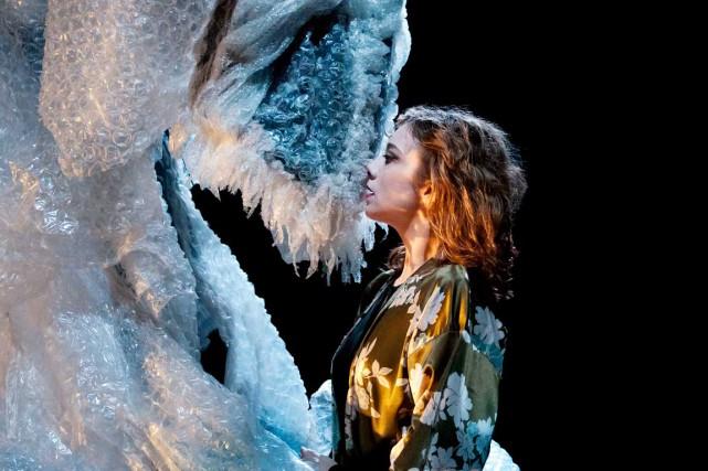 L'interprète Aurélia Thierrée a su démontrer l'étendue de... (Photo Richard Haughton)