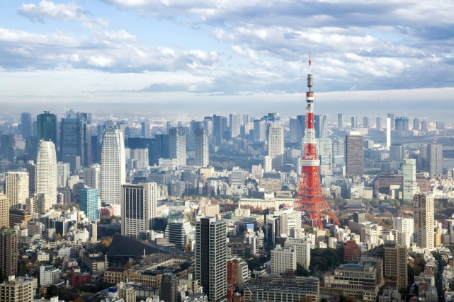 Une forte secousse a été ressentie samedi à Tokyo en raison d'un séisme de... (Photo Digital/Thinkstock)