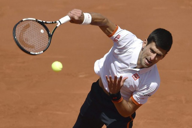 Novak Djokovic... (PHOTO PASCAL GUYOT, AFP)