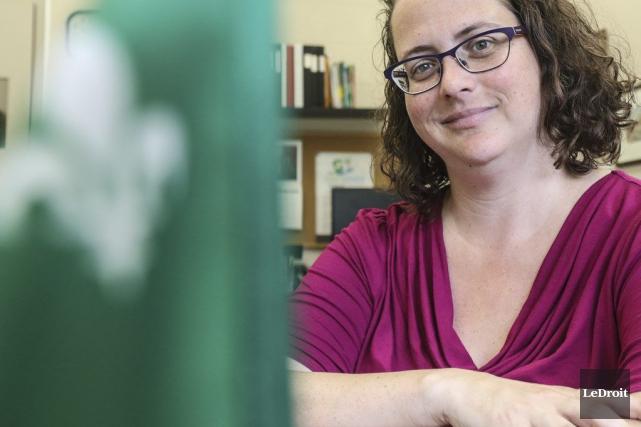 Isabelle-N. Miron est présidente de l'ACFO et n'habite... (Patrick Woodbury, LeDroit)