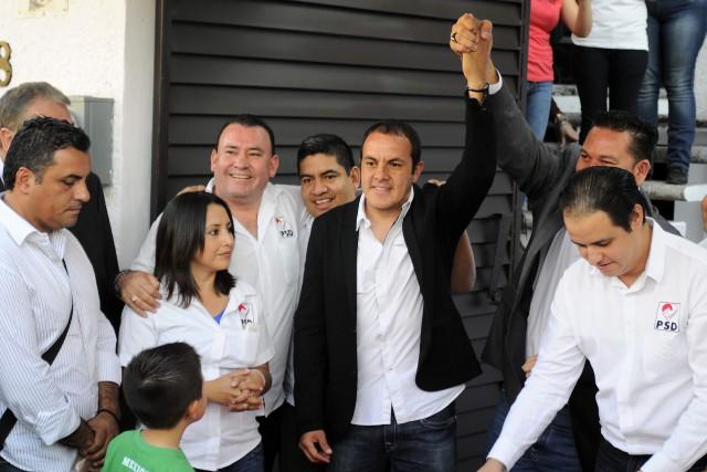 Cuauhtémoc Blanco, le footballeur,est acclamé en héros par... (Photo Tony Rivera, Archives AP)