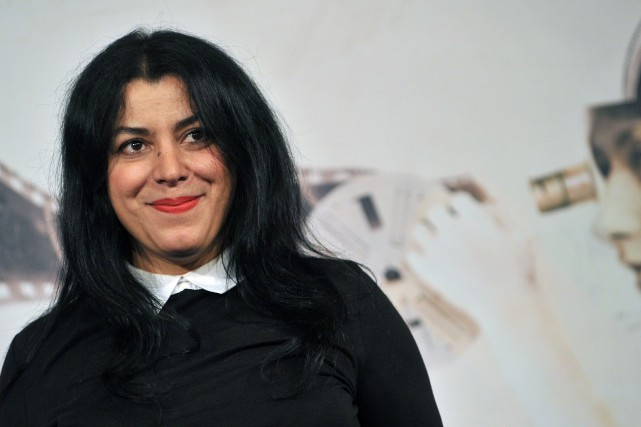 Marjane Satrapi... (PHOTO TIZIANA FABI, AFP)