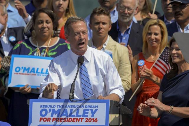 Dans son discours prononcé samedi depuis Baltimore, dont... (Photo Doug Kapustin, REUTERS)